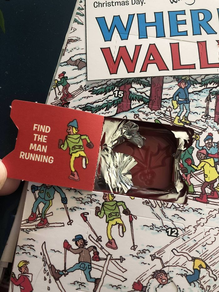 28. My 'Where's Wally' Advent Calendar Isn't Giving Me Much Of A Challenge