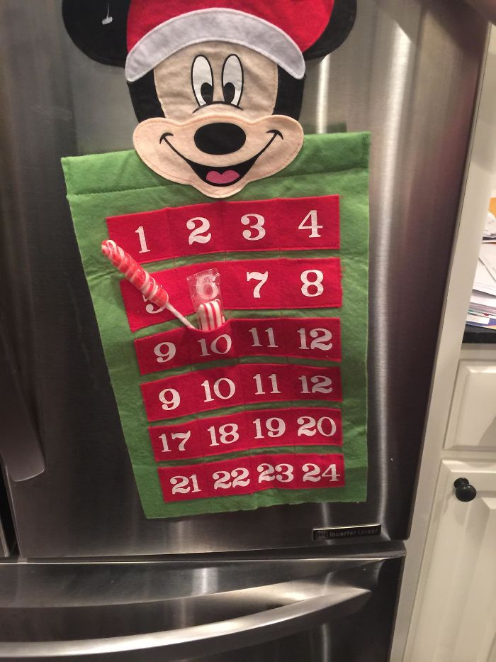 29. Our Advent Calendar, We Didn't Notice When We Bought It