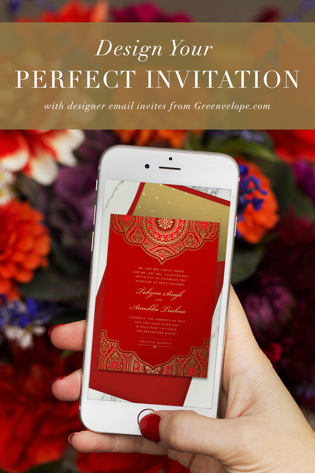 Greenvelope Invitations by Text Email Online