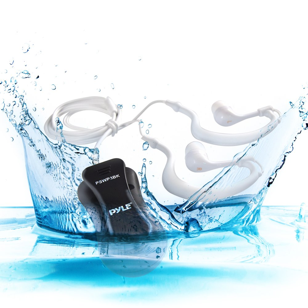 Pyle Waterproof Sports Wearable 8GB Music Player
