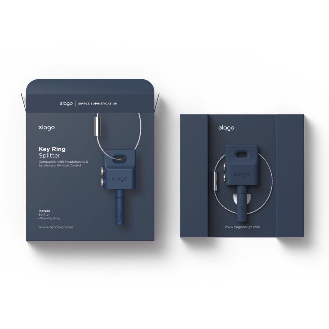 Elago Keyring Headphone Splitter For iPhone