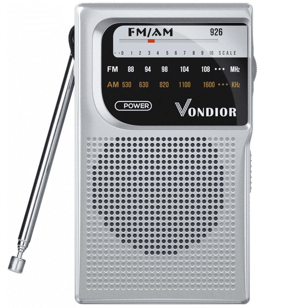 Pocket Radio With A Headphone Socket