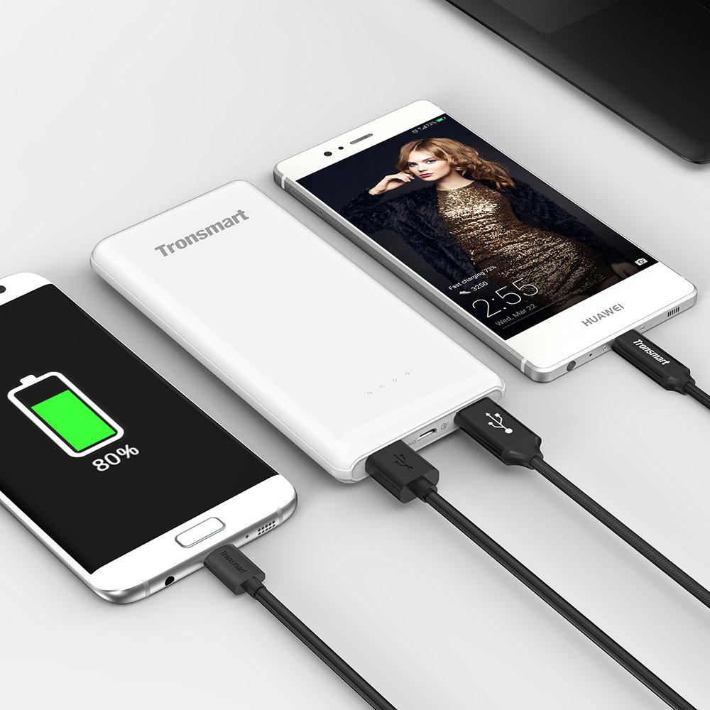 Tronsmart Presto 10000mAh Ultra-Compact Power Bank with Quick Charger 3.0