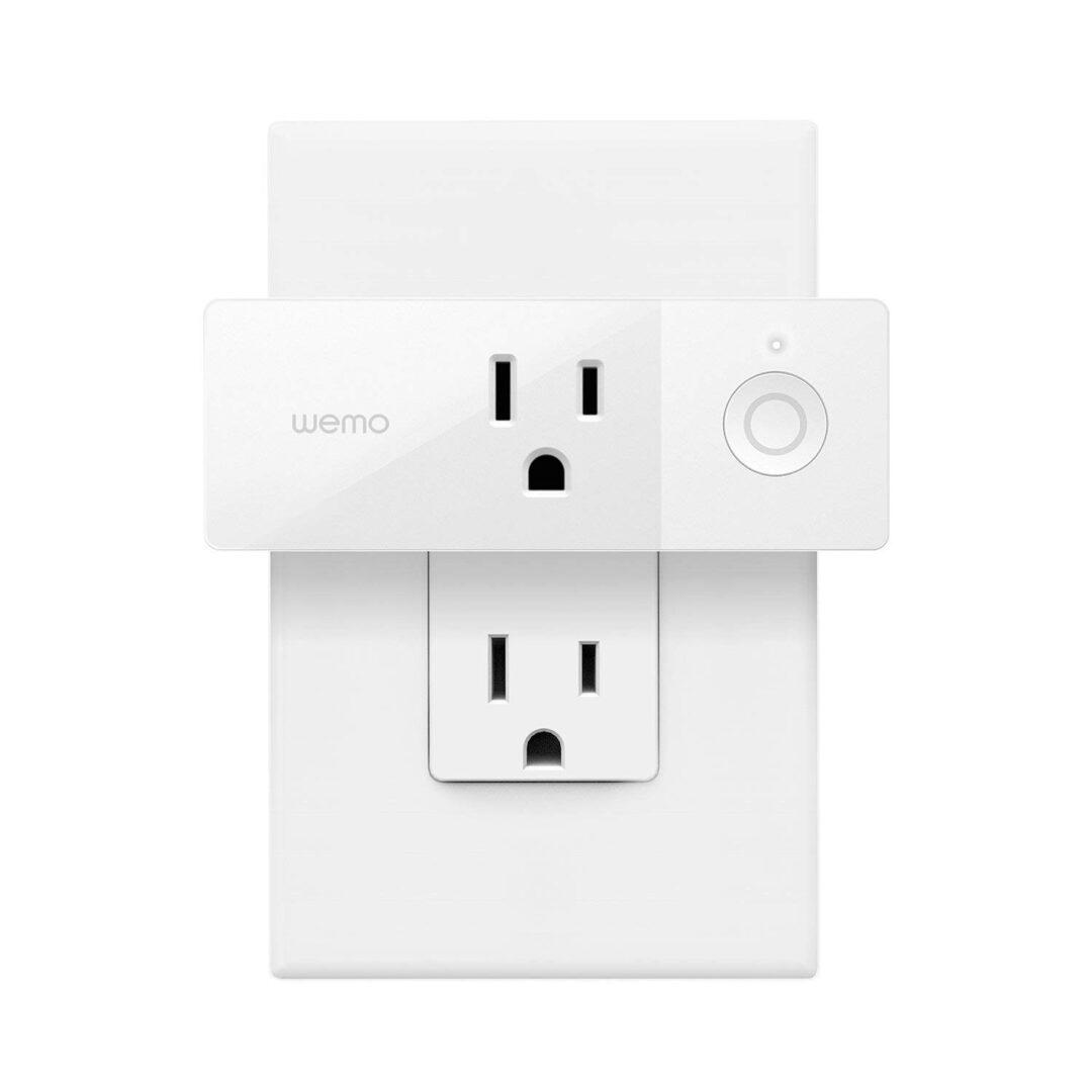 Wemo Mini Smart Plug Google Assistant & Apple HomeKit