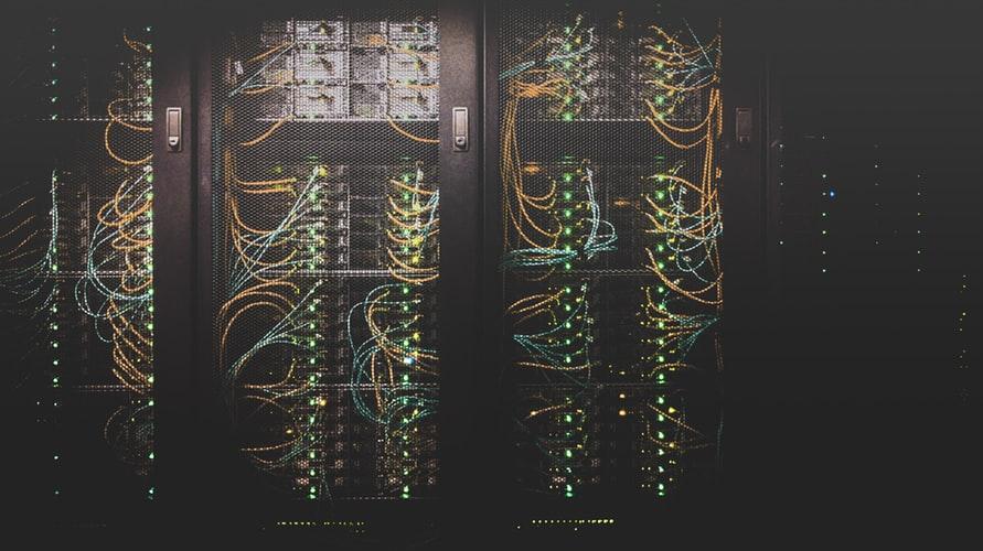 server storing