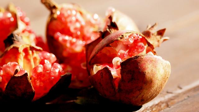 14. Pomegranates