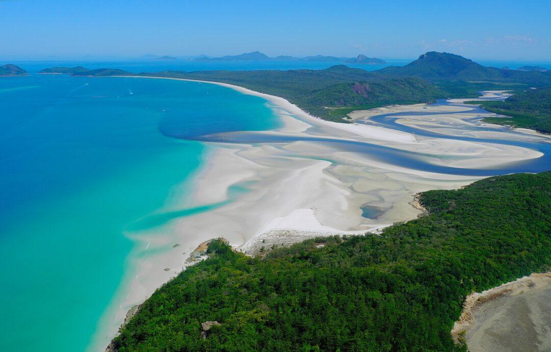 14. Whitehaven Beach At Whitsunday Island In Australia