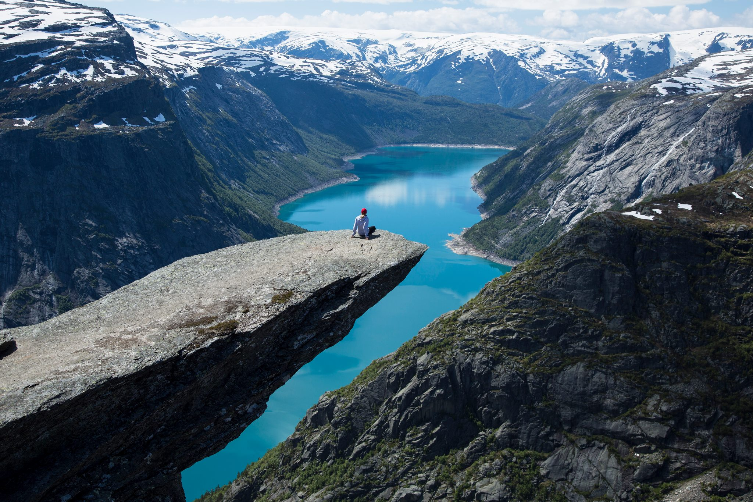 16. Trolltunga In Hordaland, Norway