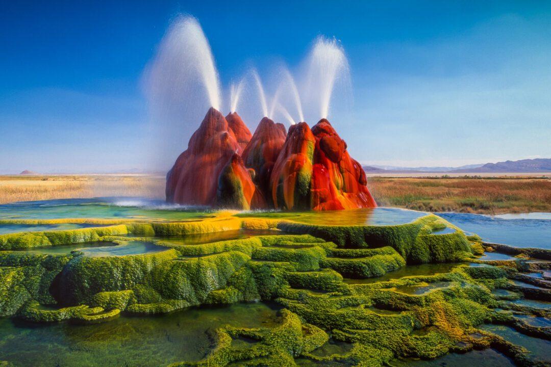 -Fly-Geyser-in-Nevada
