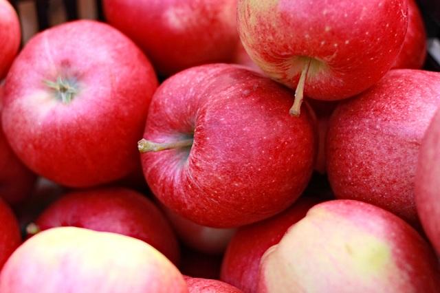 7. Organic Apples