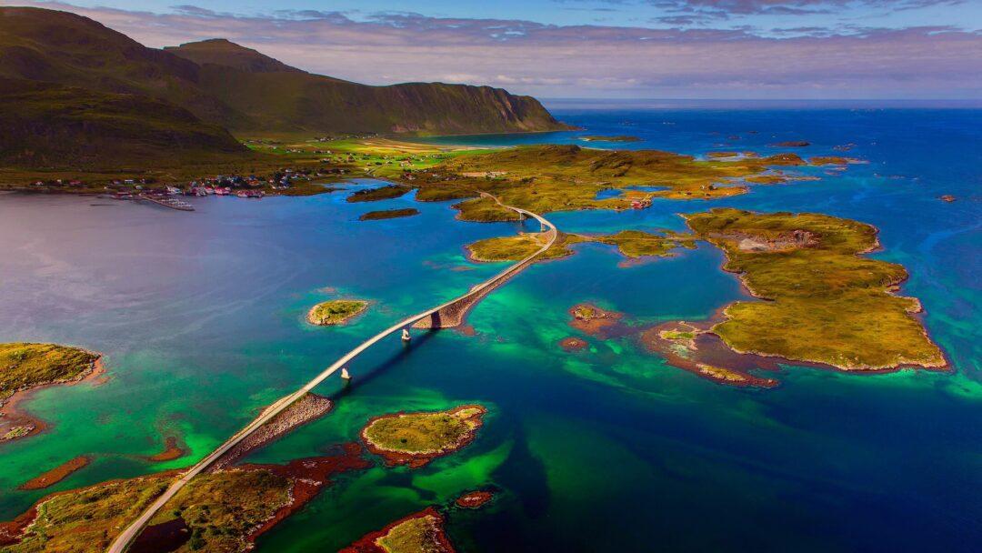 8. Bridge In Lofoten Islands, Norway