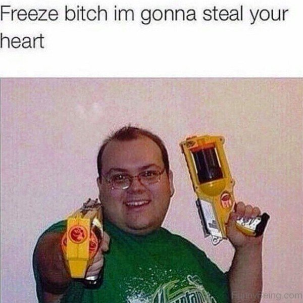 Freeze Bitch Im Gonna Steal Your Heart