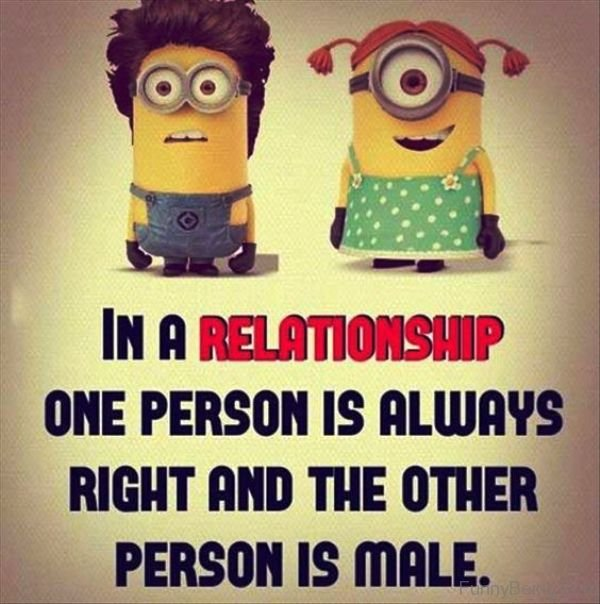 In A Relationship One Person Is Always
