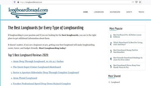 Longboardbrand.Com