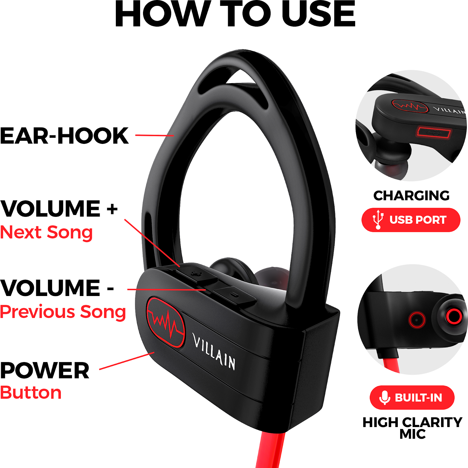 Best Bluetooth Headphones with Microphone