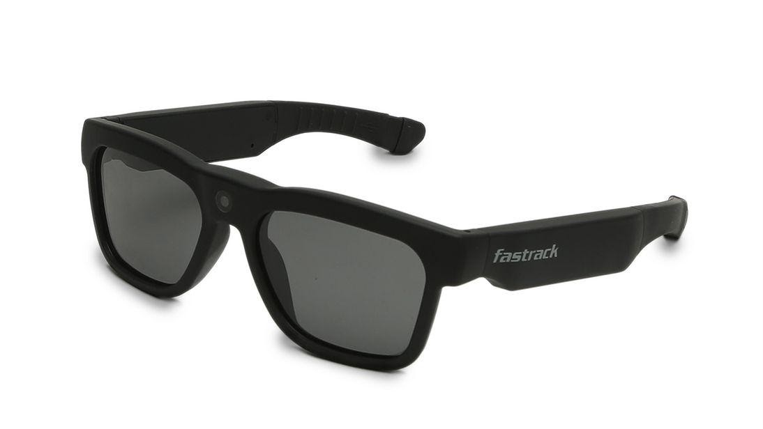 Black HD Video Fastrack Bluetooth Sunglasses
