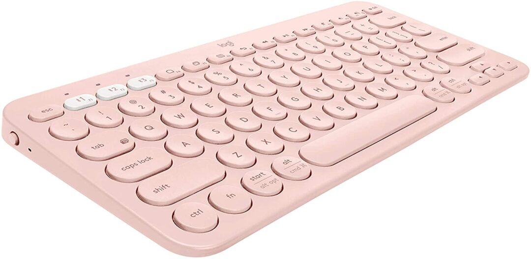 Multi-Device Wireless Bluetooth Keyboard for Mac