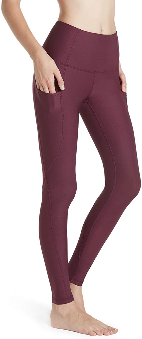 TSLA High Waist Yoga Pants with Pockets