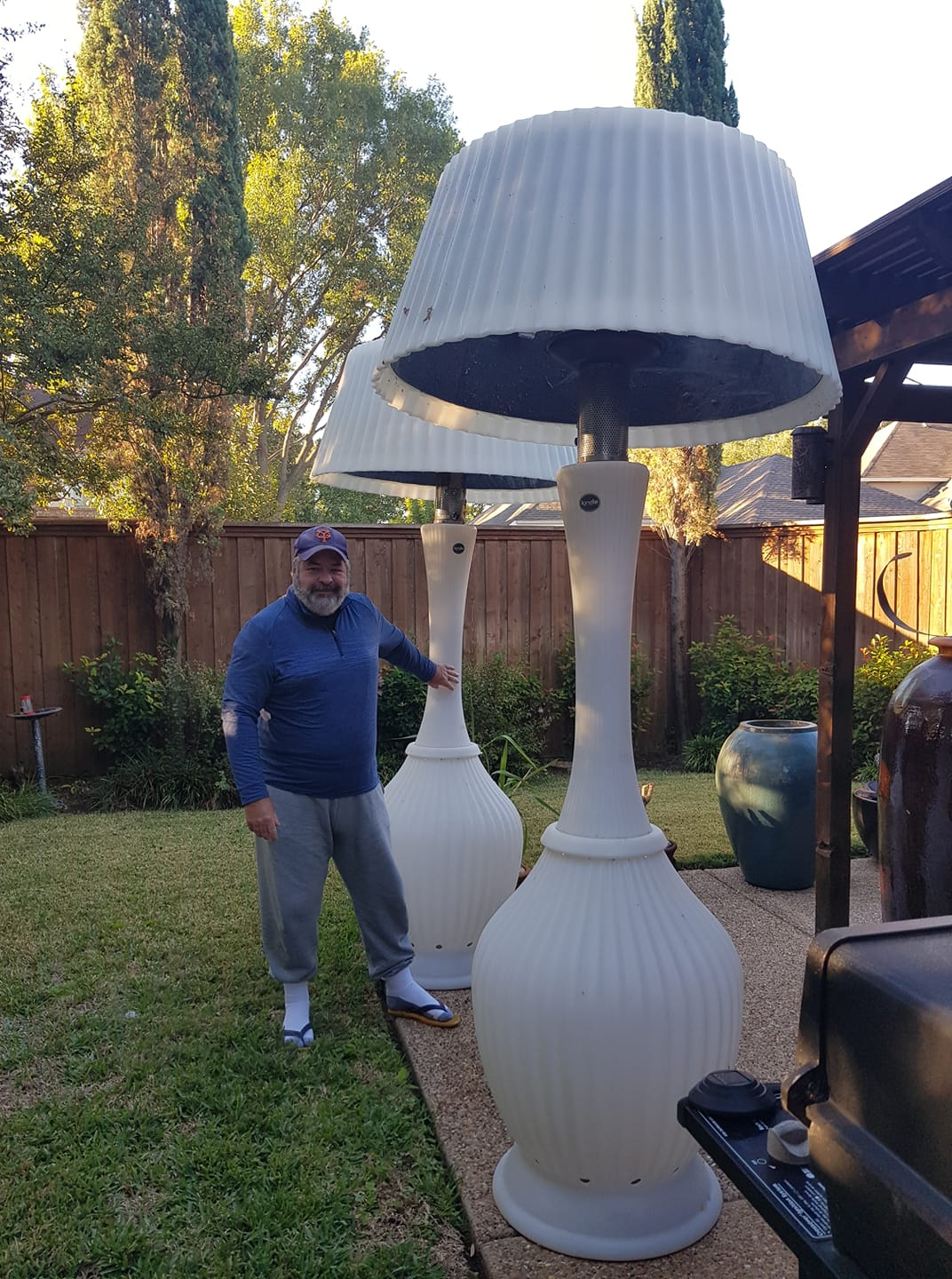 The lamp dad: