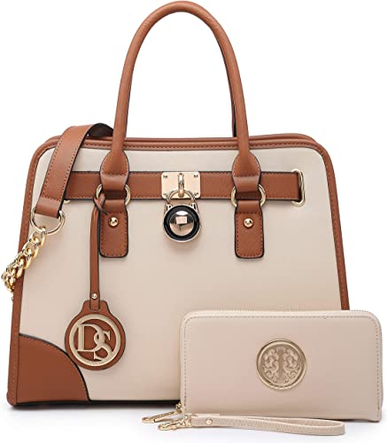 Briefcase Hobo Bag Set 2pcs