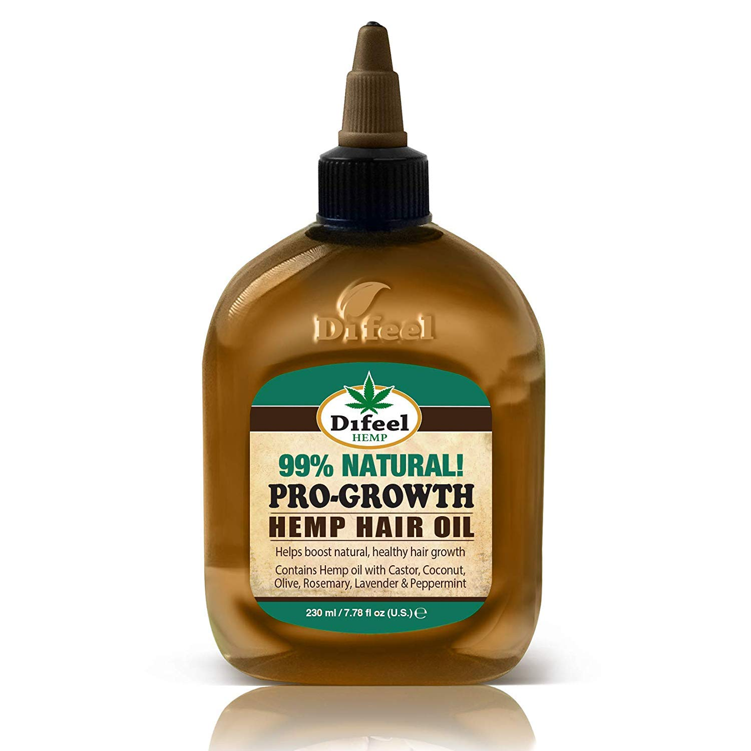 Natural Hemp Hair Oil