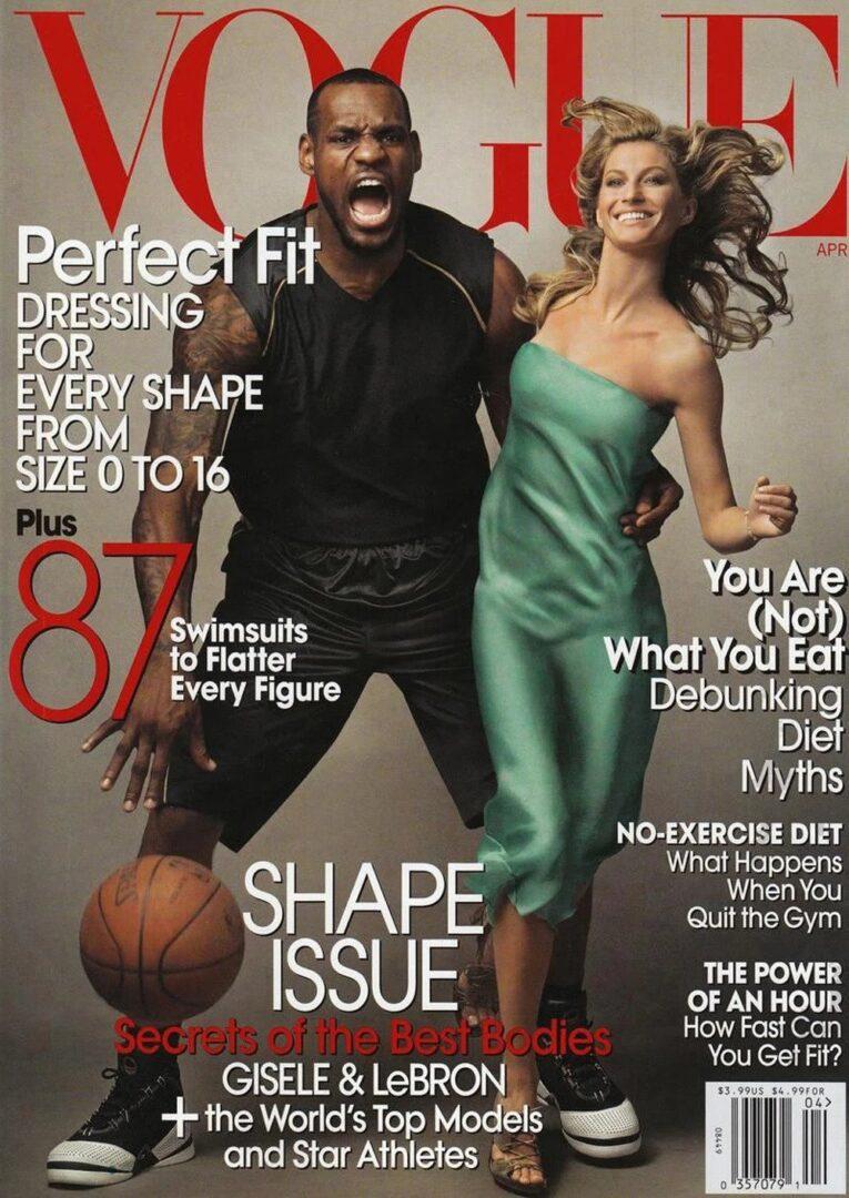 LeBron James & Gisele