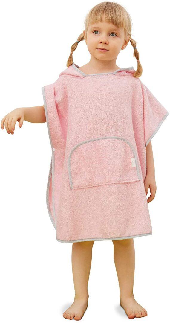SIORO Kids Hooded Bath Towel