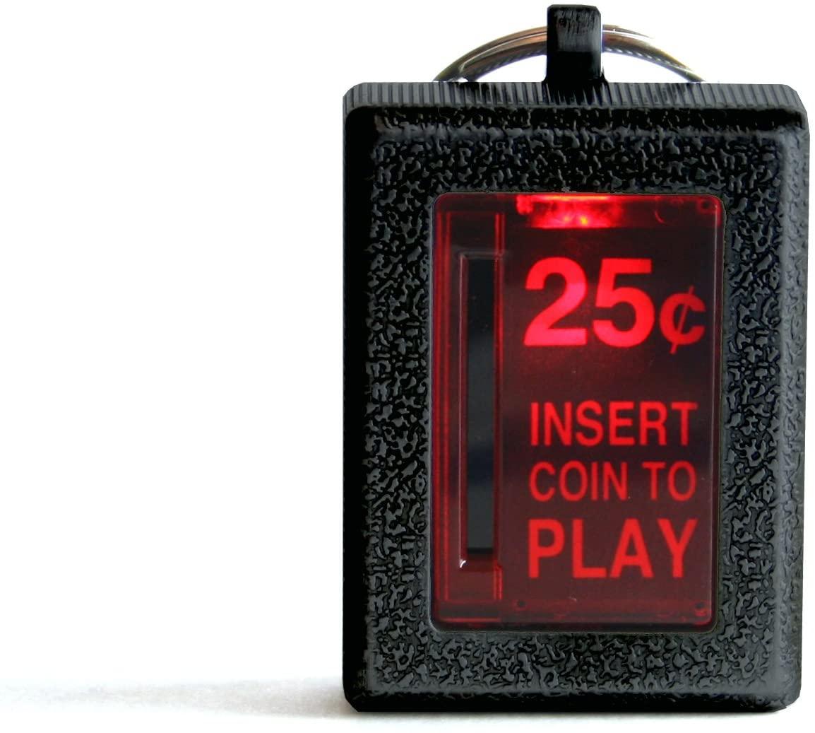 RepliCade Insert Coin Keychain