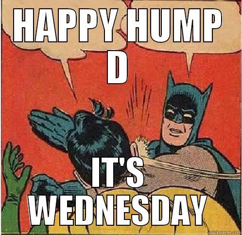 Batman hump day meme
