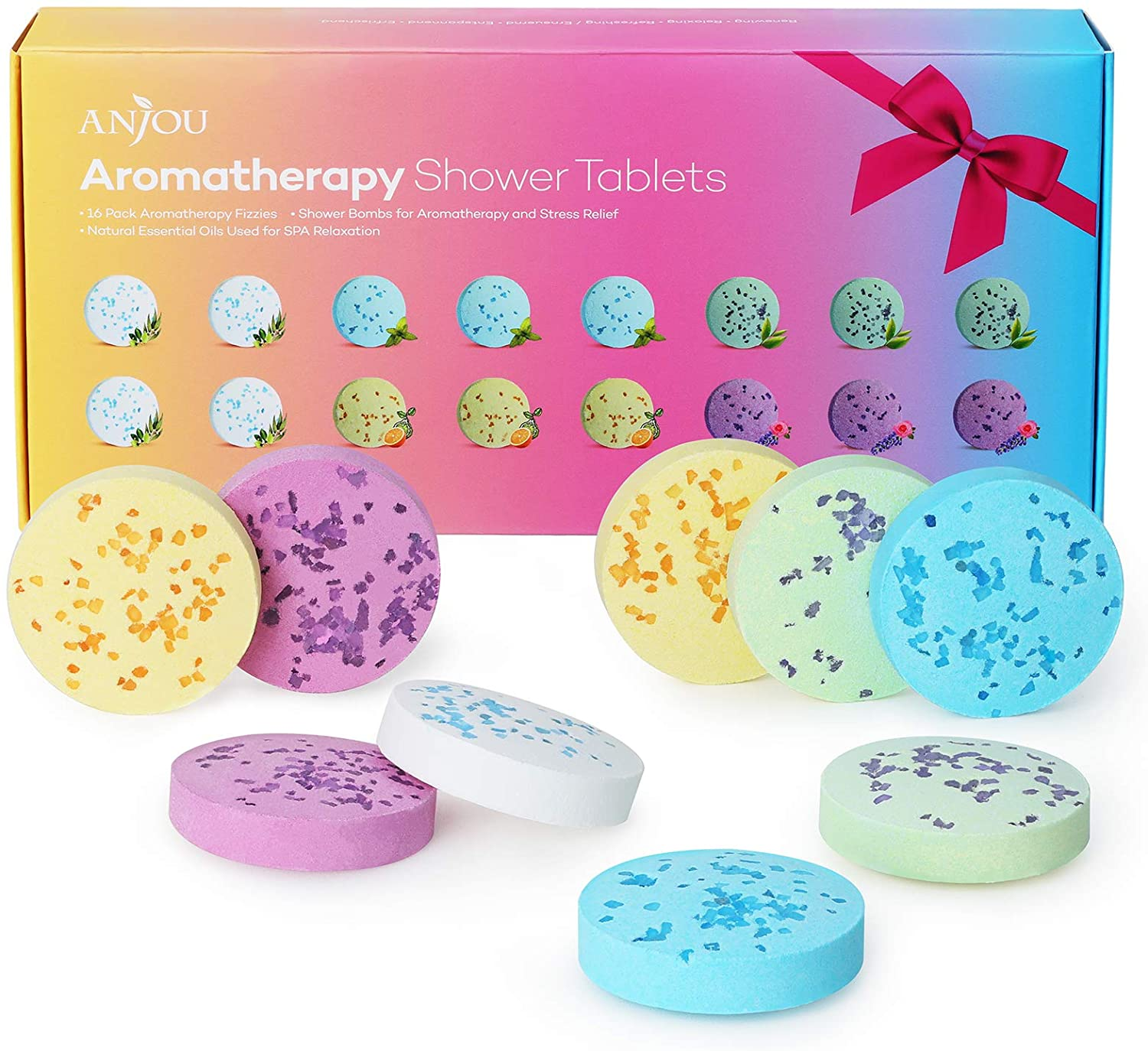 Shower Bomb Tablets Aromatherapy Bath Bombs