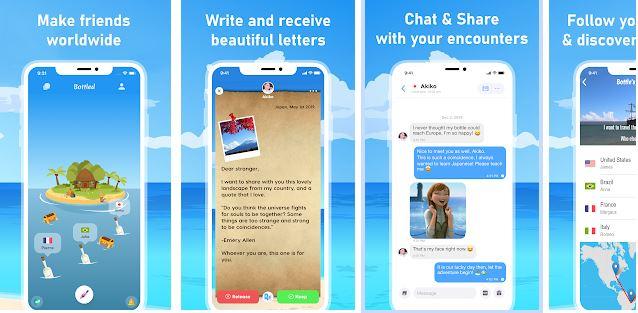 Bottle Online Chatting App