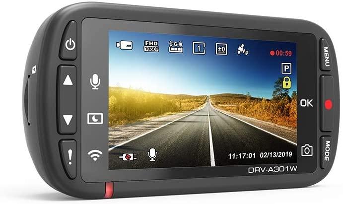 Kenwood DRV-A301W HD dash cam