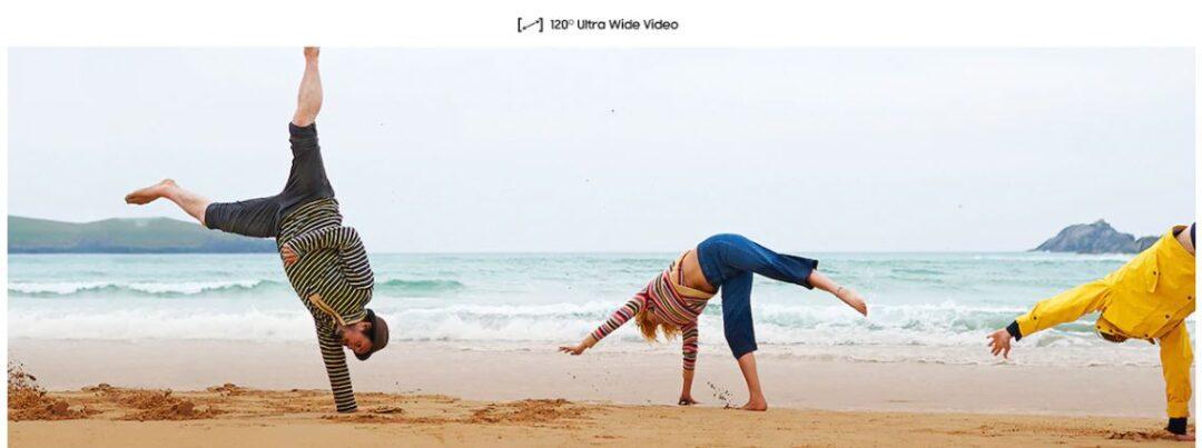 Samsung Galaxy A20s Wide Video