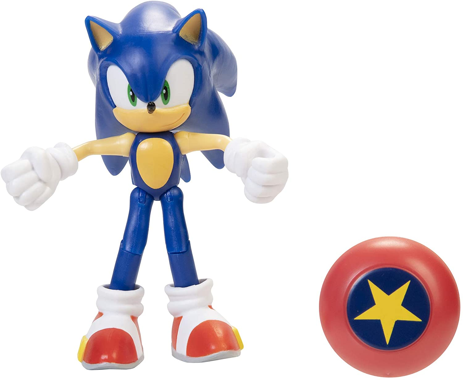 """Sonic The Hedgehog 4"""" Sonic Action"""