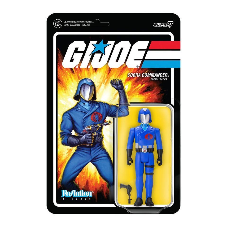 Super7 ReAction G.I. Joe Cobra