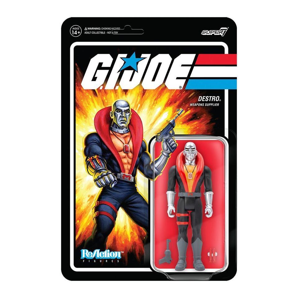 Super7 ReAction G.I. Joe Destro