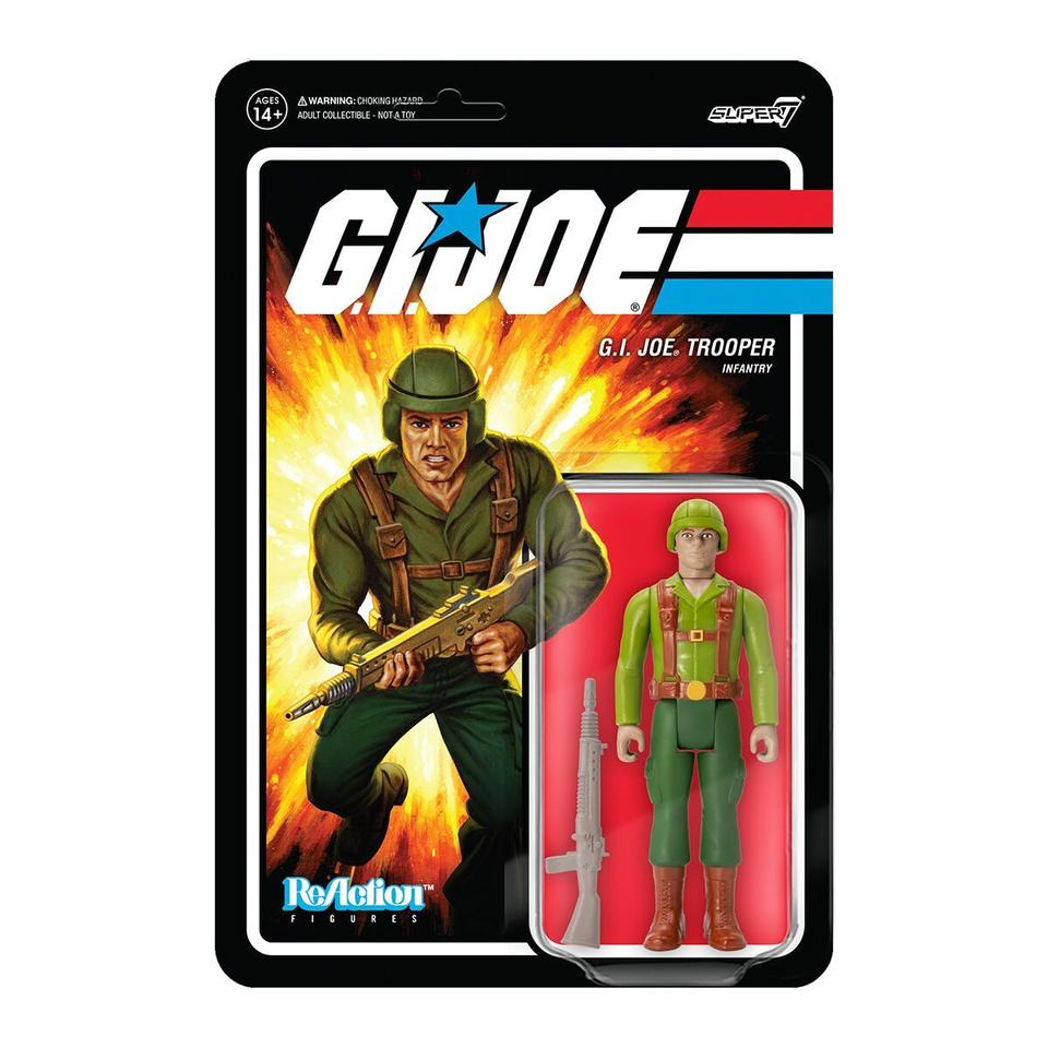 Super7 ReAction G.I. Joe Greenshirt
