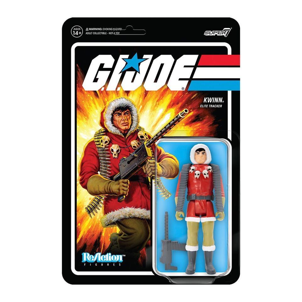 Super7 ReAction G.I. Joe Tracker Kwinn