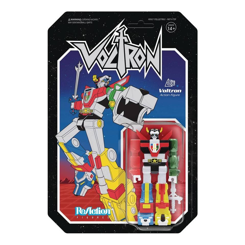 Super7 ReAction Voltron