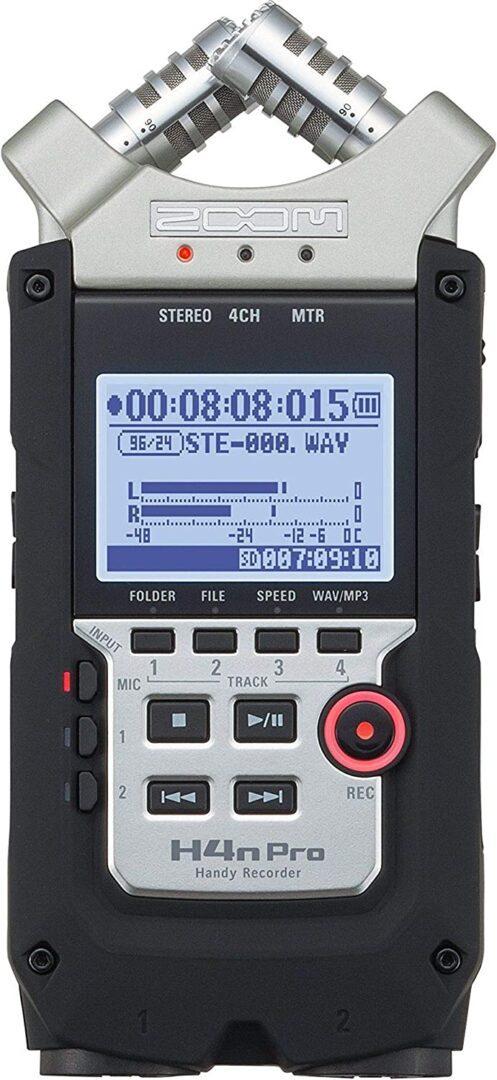 Zoom H4n Pro 4-Track